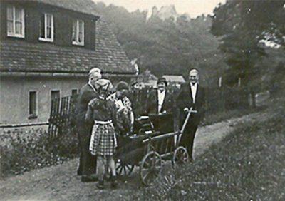 An- und Abreise in den 1950er Jahren