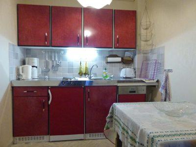 Ferienwohnung 1 - Küchenzeile