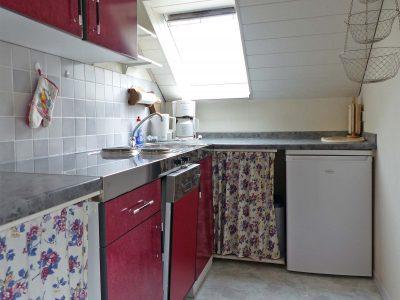 Küche in der Ferienwohnung 6