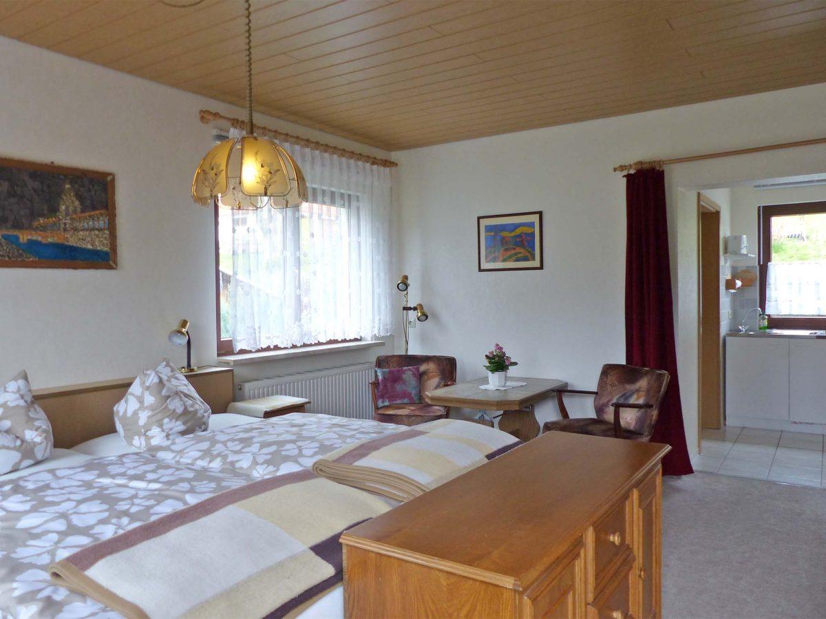 Wohnschlafzimmer Ferienwohnung 5