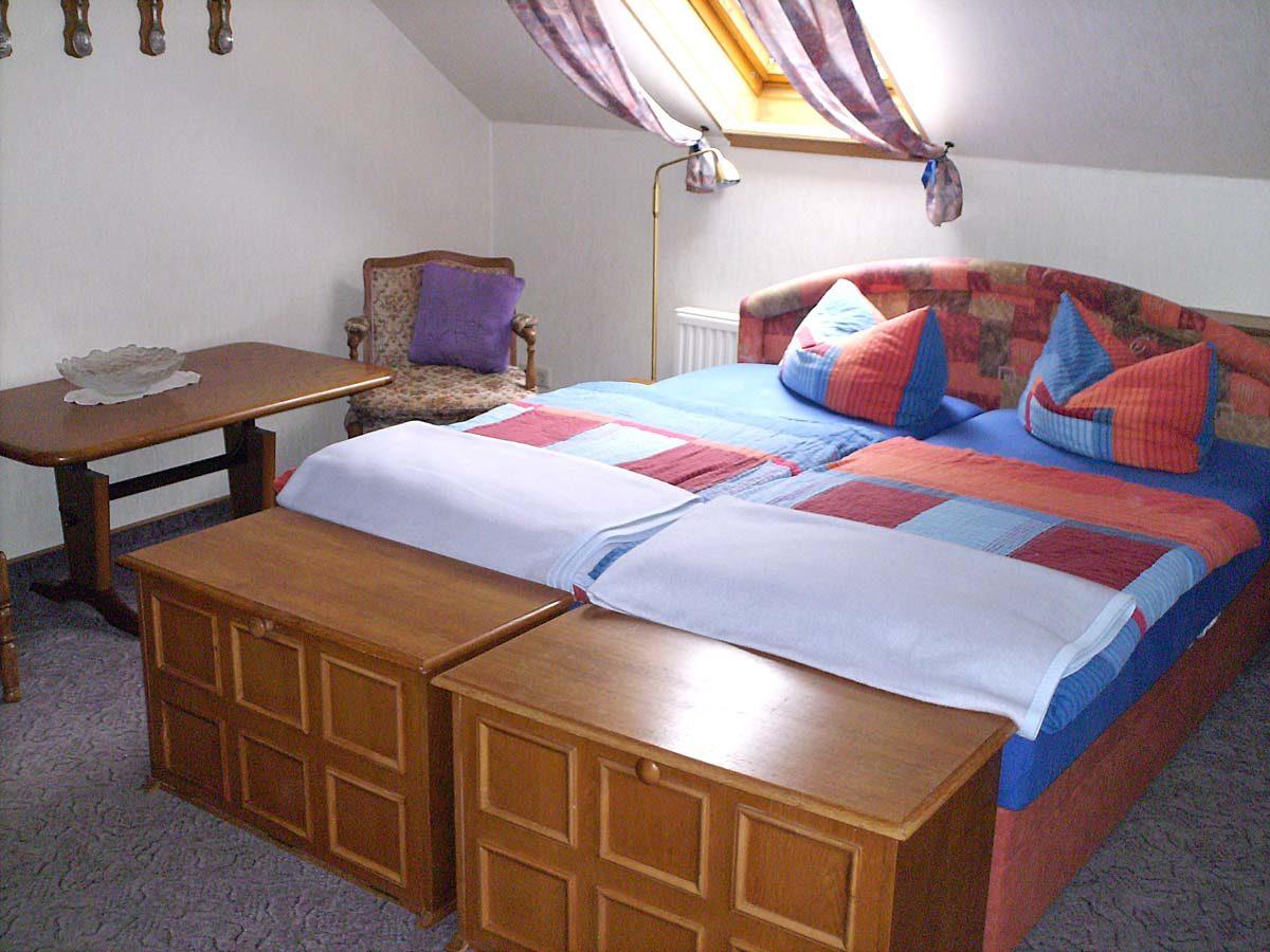 Wohn-Schlafzimmer Fewo 7